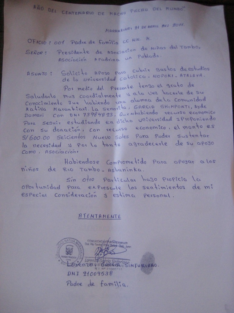 2011 Solicitud Ayuda Gastos Universitarios